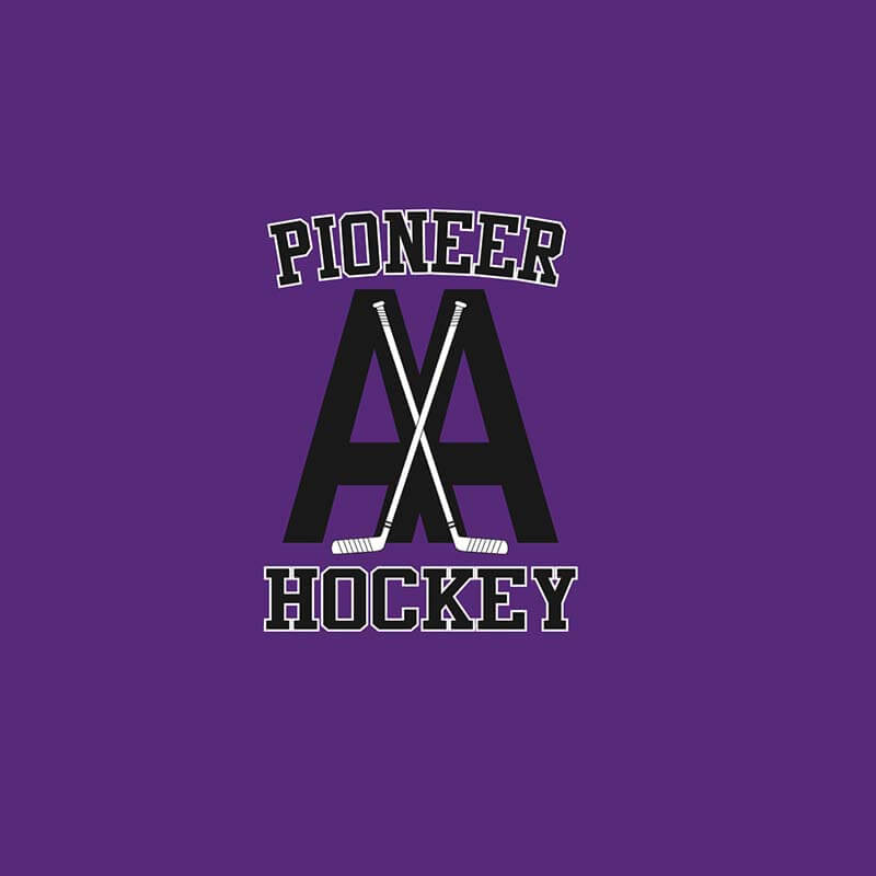 Spirit wear AA Pioneer Hockey